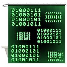 Binary code for GEEK Shower Curtain