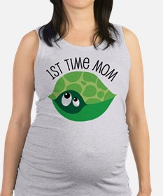 Cute 1st Time Mom Maternity Tank Top