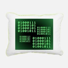 Binary code for GEEK Rectangular Canvas Pillow