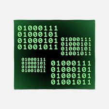 Binary code for GEEK Throw Blanket