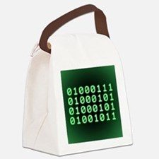 Binary code for GEEK Canvas Lunch Bag