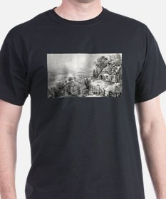 Nova Scotia scenery - 1868 T-Shirt