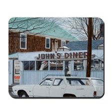 John's Diner Mousepad