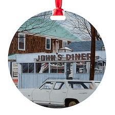 John's Diner Ornament