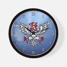 Heraldic Eagle Wall Clock