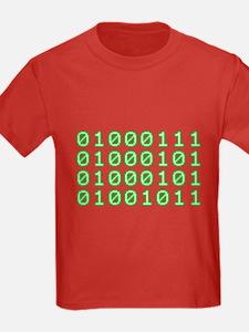 Binary code for GEEK T