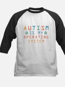 Autism Operating System Baseball Jersey