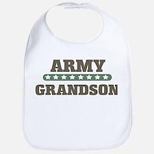 Army Stars Grandson Bib