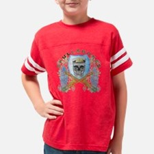 skullbones4 Youth Football Shirt
