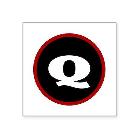 The Q Sticker