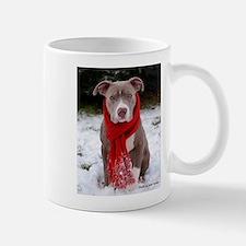 Winter Pit Bull Mug