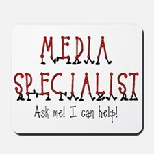 Media Specialist Mousepad
