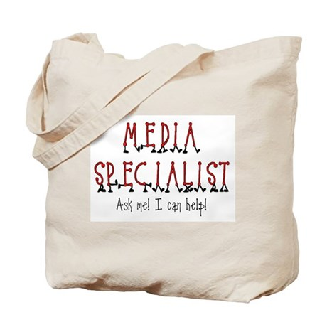 Media Specialist Tote Bag
