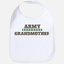 Army Stars Grandmother Bib