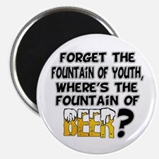 Fountain of Beer Magnet