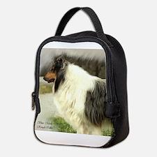 Blue Merle Collie Neoprene Lunch Bag