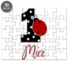 MIA Ladybug 1st Birthday 1 Puzzle