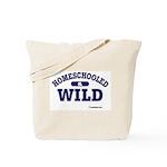 Homeschooled & Wild Tote Bag