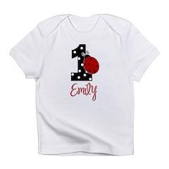 EMILY Ladybug 1st Birthday 1 Infant T-Shirt