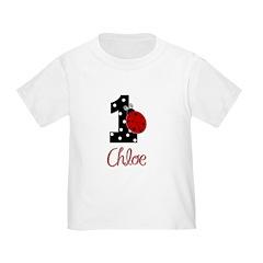 CHLOE Ladybug 1st Birthday 1 T-Shirt