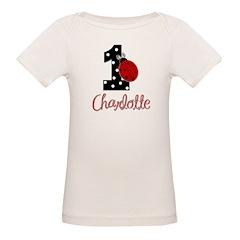 CHARLOTTE Ladybug 1st Birthday 1 T-Shirt