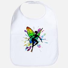 Rainbow Fairy Bib