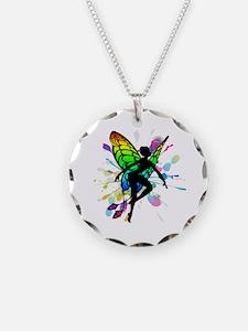 Rainbow Fairy Necklace