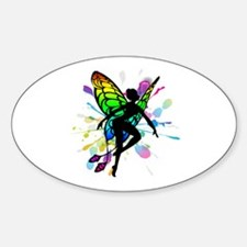 Rainbow Fairy Decal