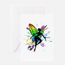 Rainbow Fairy Greeting Card