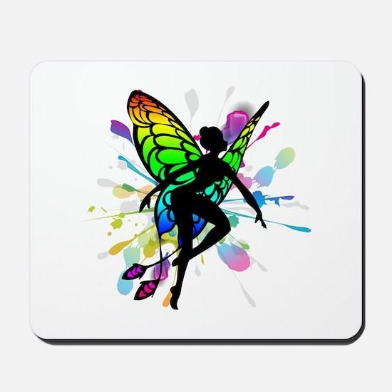 Rainbow Fairy Mousepad
