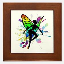 Rainbow Fairy Framed Tile