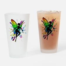 Rainbow Fairy Drinking Glass