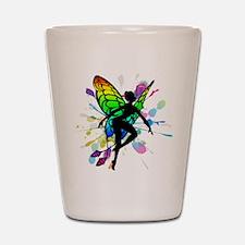 Rainbow Fairy Shot Glass