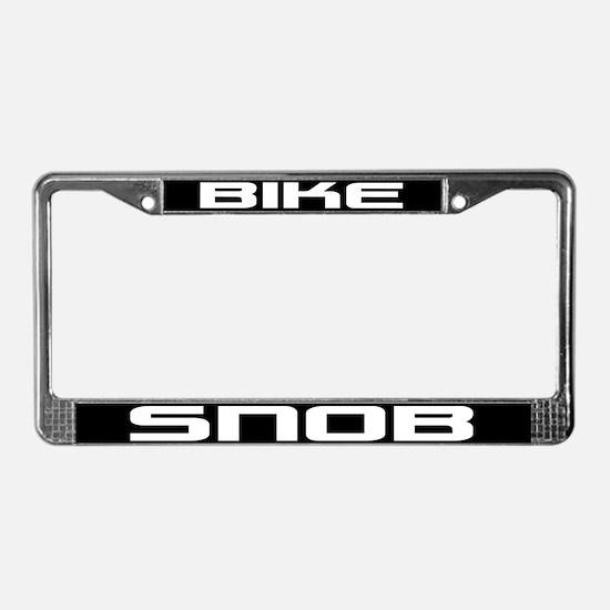Bike Snob License Plate Frame