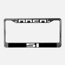 Area 51 License Plate Frame