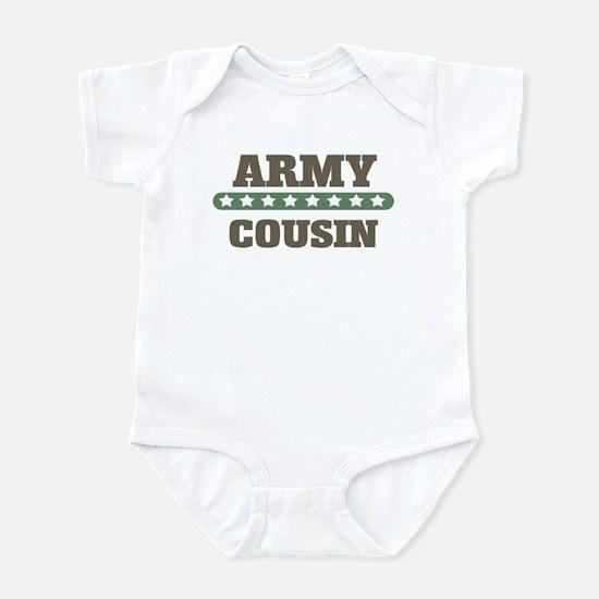 Army Stars Cousin Infant Bodysuit