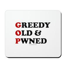 Greedy Old & Pwned Mousepad