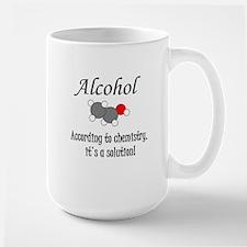 Alcohol Is A Solution Mug