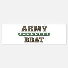 Army Stars Brat Bumper Bumper Bumper Sticker