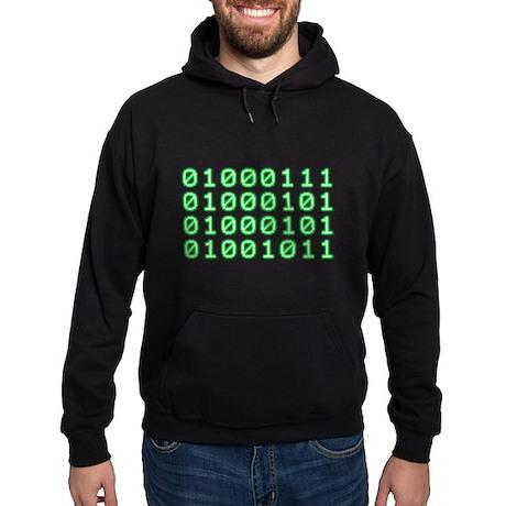 Binary code for GEEK Hoodie (dark)