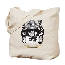 Gething Coat of Arms (Family Crest) Tote Bag