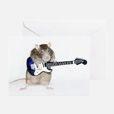 Rufus Guitar Greeting Cards (Pk of 10)