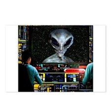Alien Postcards (Package of 8)