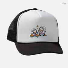 Ice Hockey Penguins (1) Kids Trucker hat