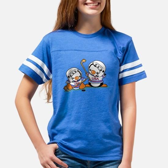 Ice Hockey Penguins (1) Youth Football Shirt