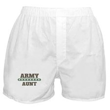 Army Stars Aunt Boxer Shorts