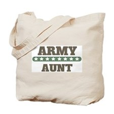 Army Stars Aunt Tote Bag
