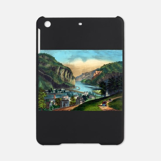 View of Harpers Ferry, Va. - 1907 iPad Mini Case