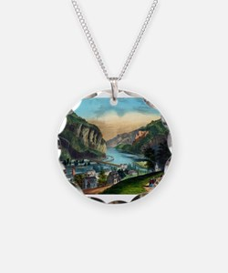 View of Harpers Ferry, Va. - 1907 Necklace