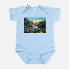 View of Harpers Ferry, Va. - 1907 Infant Bodysuit